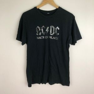 Vintage 2005 AC/DC back in black tee